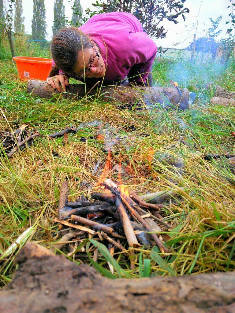 Forest School Training at IFST, Churchdown