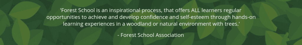forest school training logo
