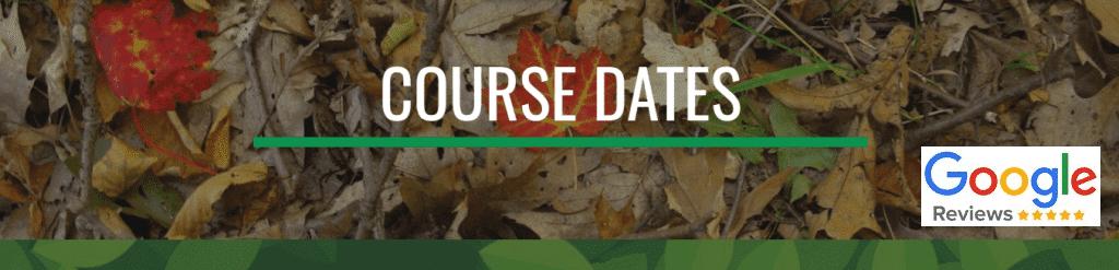 coursedates Forest School Training dates