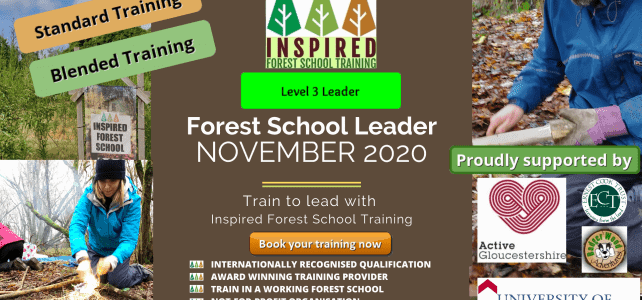 Level 3 Forest School Training – November 2020