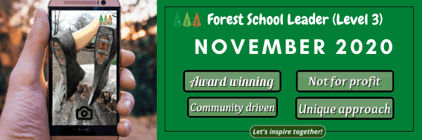 November-course-dates Level 3 Forest School Training - November 2020