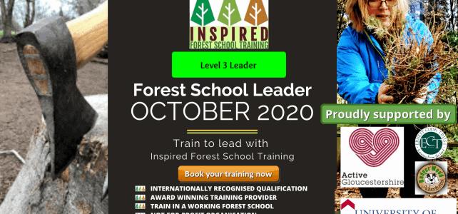 Level 3 Forest School Training – October 2020