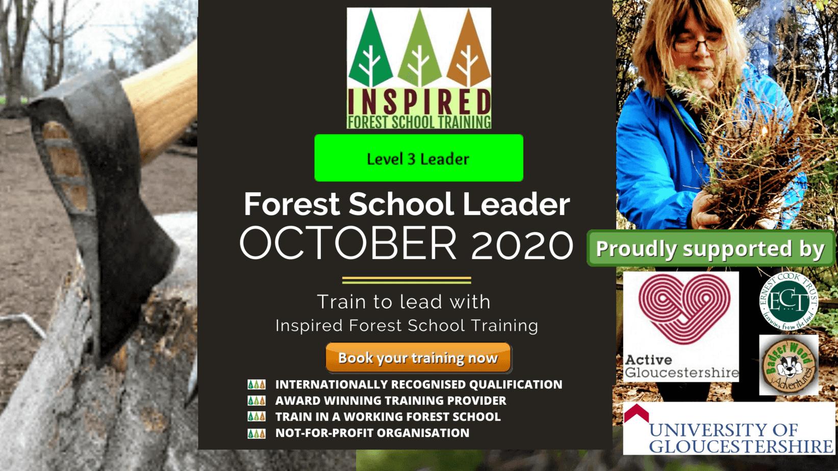 October-2020-Forest-School-Leader Level 3 Forest School Training - October 2020