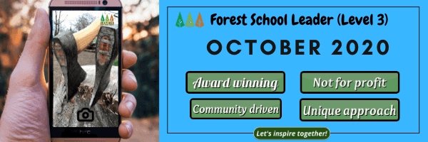 October-course-dates Level 3 Forest School Training - October 2020