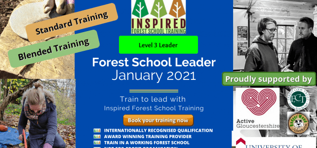 Forest School training - January 2021