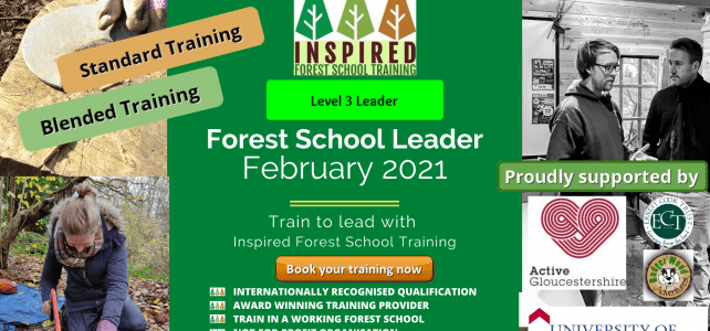 February 2021 Forest School Training course dates