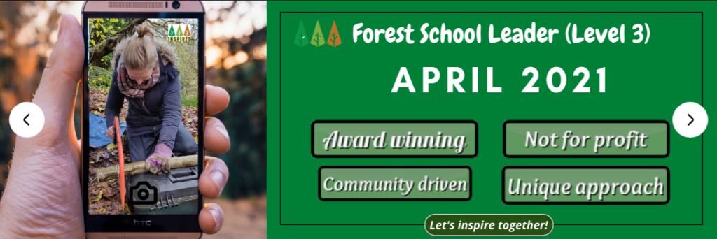 April-2021-Forest-School-Training-1024x342 Level 3 Forest School Leader Training - April 2021
