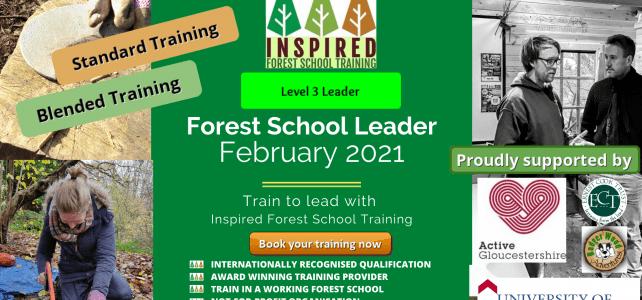 Level 3 Forest School Training – February 2021