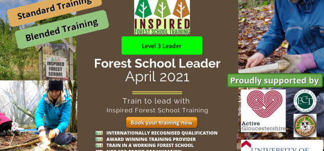 Forest School Leader training - April 2021