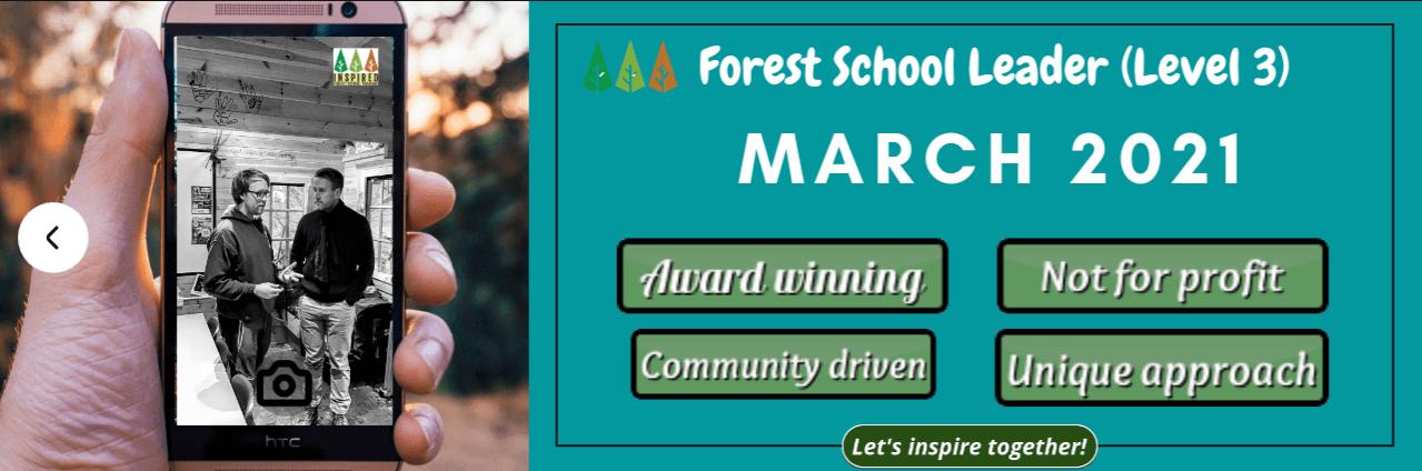 March-2021-Forest-School-Training Level 3 Forest School Training - March 2021