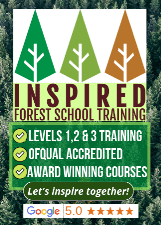 Begin your online forest school qualification training with Inspired Forest School