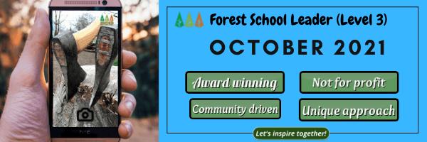 Flying-Apps-Email-Header Forest School Leader Training - October 2021