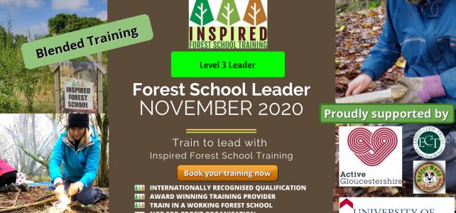 Forest School Leader Training – November 2021