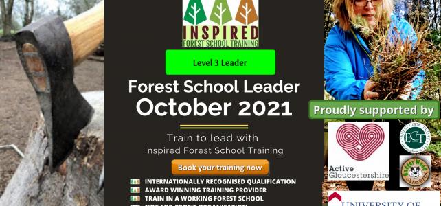 Forest School Leader Training – October 2021