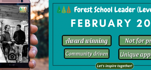 Forest School Leader Training – February 2022