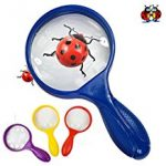 MULTI COLOURED MAGNIFYING GLASS