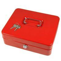 LOCKED METAL KNIFE BOX